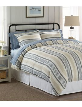 Sunwashed Linen Comforter Cover Collection by L.L.Bean