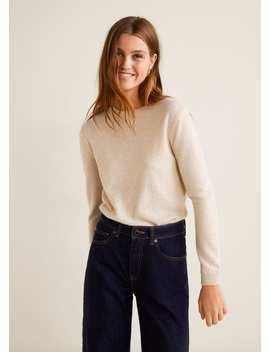 100 Percents Cashmere Sweater by Mango