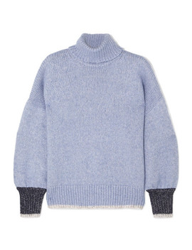 Knitted Turtleneck Sweater by La Ligne
