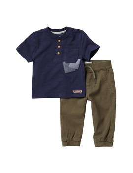 Patchwork Set (Baby & Toddler Boys) by Hudson Jeans