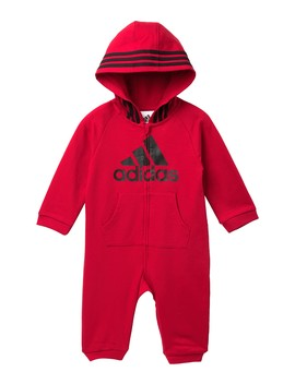 Hooded Coverall (Baby Boys) by Adidas