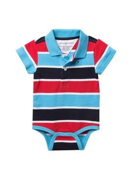 Shaun Bodysuit (Baby Boys) by Tommy Hilfiger