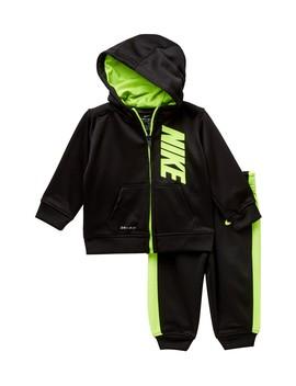 Therma Fit Fz Hoodie 2 Piece Set (Baby Boys 12 24 M) by Nike