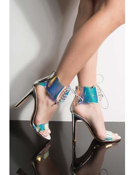 Azalea Wang Match Made Chunky Heeled Sandal by Akira