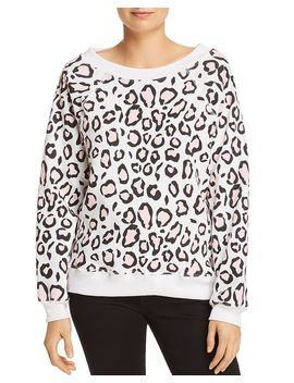 Sommers Leopard Print Sweatshirt   100 Percents Exclusive by Wildfox