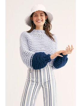 Moon Face Sweater by Free People