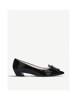 Gomette Buckle Patent Leather Courts by Roger Vivier