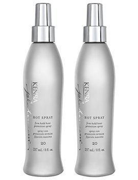 Kenra Platinum Hot Spray #20, 55 Percents Voc, 8 Ounce (2 Pack) by Kenra