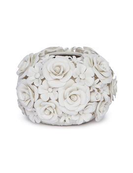 """6"""" Alice Porcelain Flower Vase, White by [""""Regina Andrew""""]"""