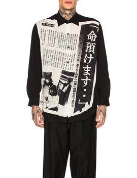 Entrust Life Shirt by Yohji Yamamoto