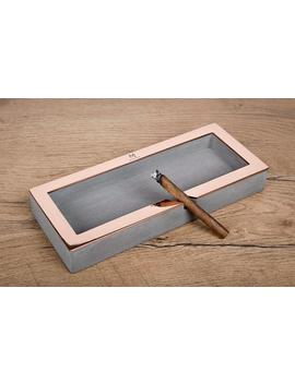 Ashtray Ma1.1 / Cigar Ashtray, Concrete Ashtray, Ash Tray, Beton, Cement, Gift For Men by Etsy
