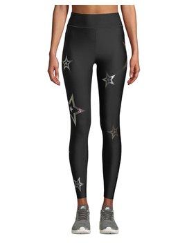 Ultra High Pop Star Printed Leggings by Ultracor