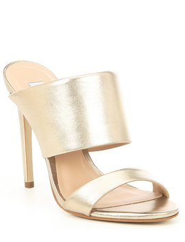 Mallory Leather Stiletto Sandals by Steve Madden