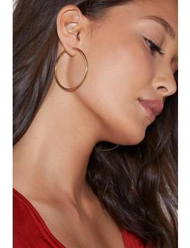 So Into You Hoop Earrings by Nasty Gal