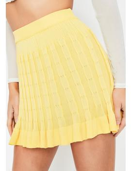 Sunny Slay School Pleated Skirt by Wildcat