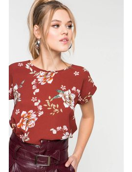 Hailey Floral Tee by A'gaci