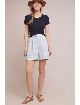 Seersucker Shorts by Anthropologie