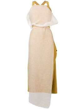 Contrast Panel Dress by Chalayan