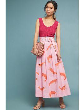 Prawn Maxi Skirt by Rachel Antonoff