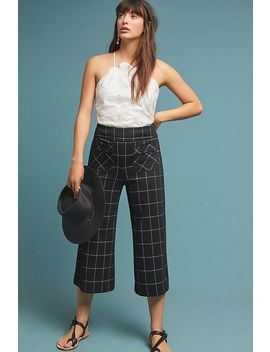 Cuffed Menswear Trousers by Eva Franco
