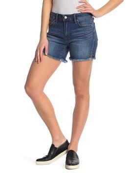 Frayed 5 Pocket Denim Shorts by Joe's Jeans