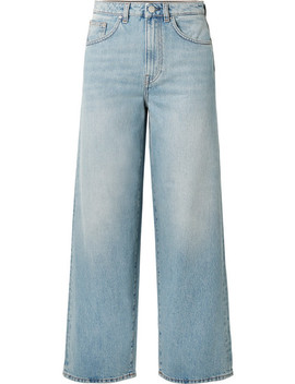 Flair High Rise Wide Leg Jeans by Totême