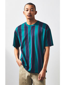 Pac Sun Ion Stripe Oversized T Shirt by Pacsun
