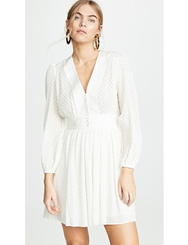 Plisse Short Dress by Zimmermann