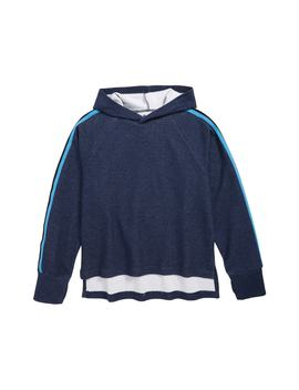 Stripe Hooded Pullover by Zella Girl