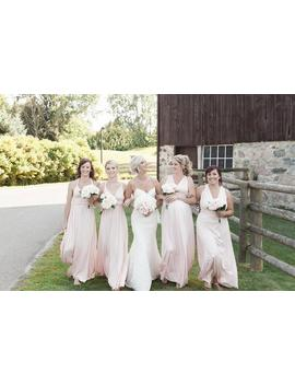 Blush Bridesmaid Dress,  Infinity Dress, Convertible Dress, Maternity Gown, Party Dress, Prom Dress, Multiway Long Dress by Etsy