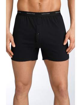 3 Pack Supima® Cotton Boxers by Nordstrom Men's Shop