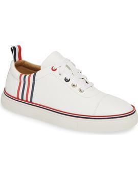 Cap Toe Sneaker by Thom Browne