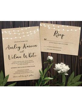 Wedding Invitations Professionally Printed   Custom Wedding Invitation Set   130lb Paper   Invitations For Wedding, Wedding Invites by Etsy