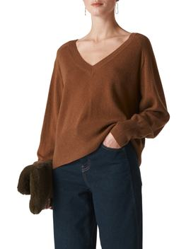Oversize Cashmere & Wool Sweater by Whistles