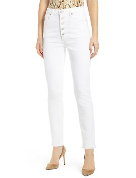 Olivia Button Fly High Waist Slim Jeans by Citizens Of Humanity