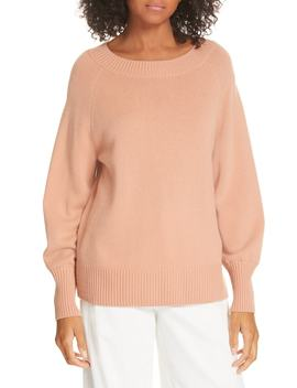 Full Sleeve Wool & Cashmere Sweater by Vince