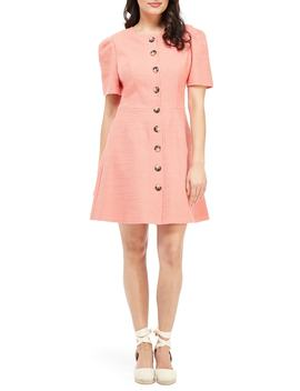 Kathleen Button Front A Line Dress by Gal Meets Glam Collection