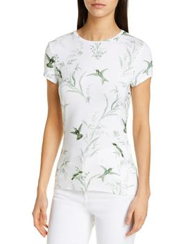 Yumelia Fortune Fitted Tee by Ted Baker London