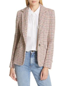 Colorful Tweed Blazer by Helene Berman