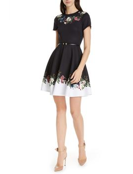Chestna Oracle Skater Dress by Ted Baker London