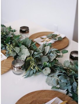 Greenery Garland For Wedding Table Runners.  Wedding Garland For Wedding Arch. Greenery For Wedding Center Pieces. Garland For Backdrop by Etsy