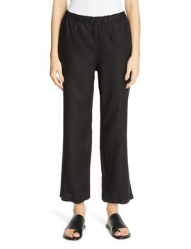 Cropped Linen Pants by Eileen Fisher