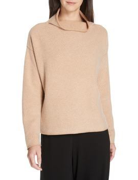 Cashmere & Wool Sweater by Eileen Fisher