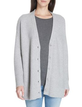 Cashmere Blend V Neck Cardigan by Eileen Fisher