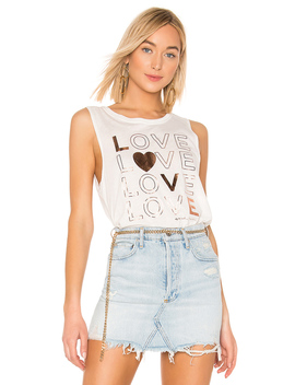 Love Muscle Tank by Spiritual Gangster