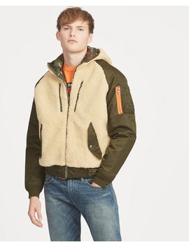 Fleece Hybrid Hoodie by Ralph Lauren
