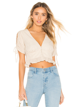 Norma Button Up Top by Superdown
