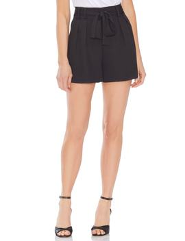 Belted High Waist Shorts by Vince Camuto