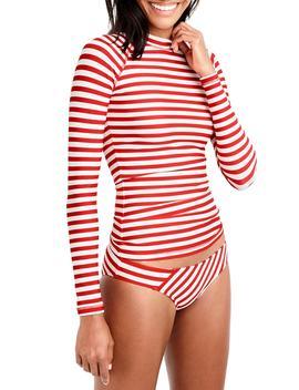 Stripe Rashguard by J.Crew