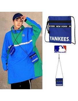 Exo X Mlb Xiumin Small Travel Cross Bag Blue 32 Bgdc811 Kpop by Mlb